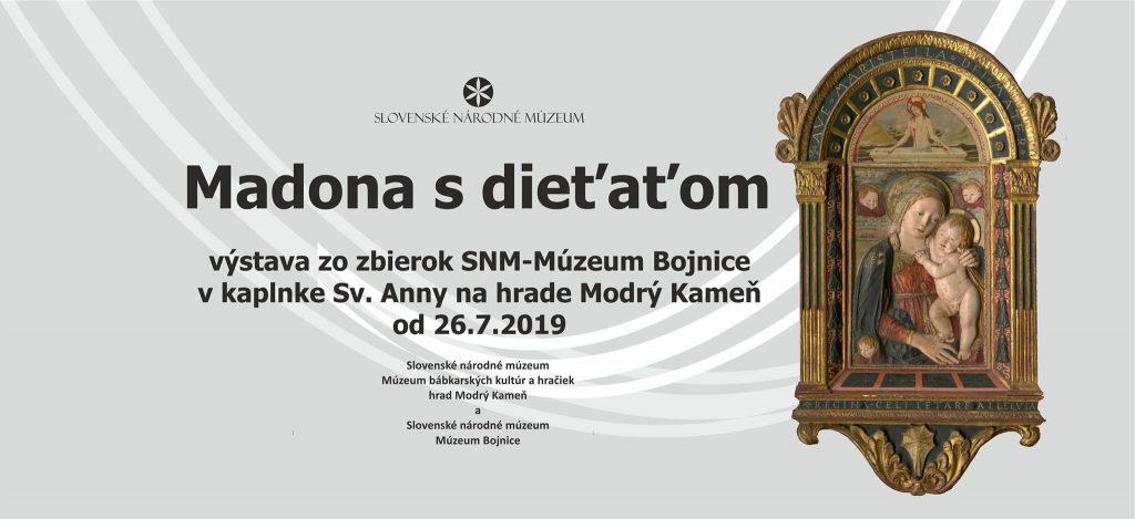 Madona s dieťaťom – výstava zo zbierok SNM – Múzeum Bojnice