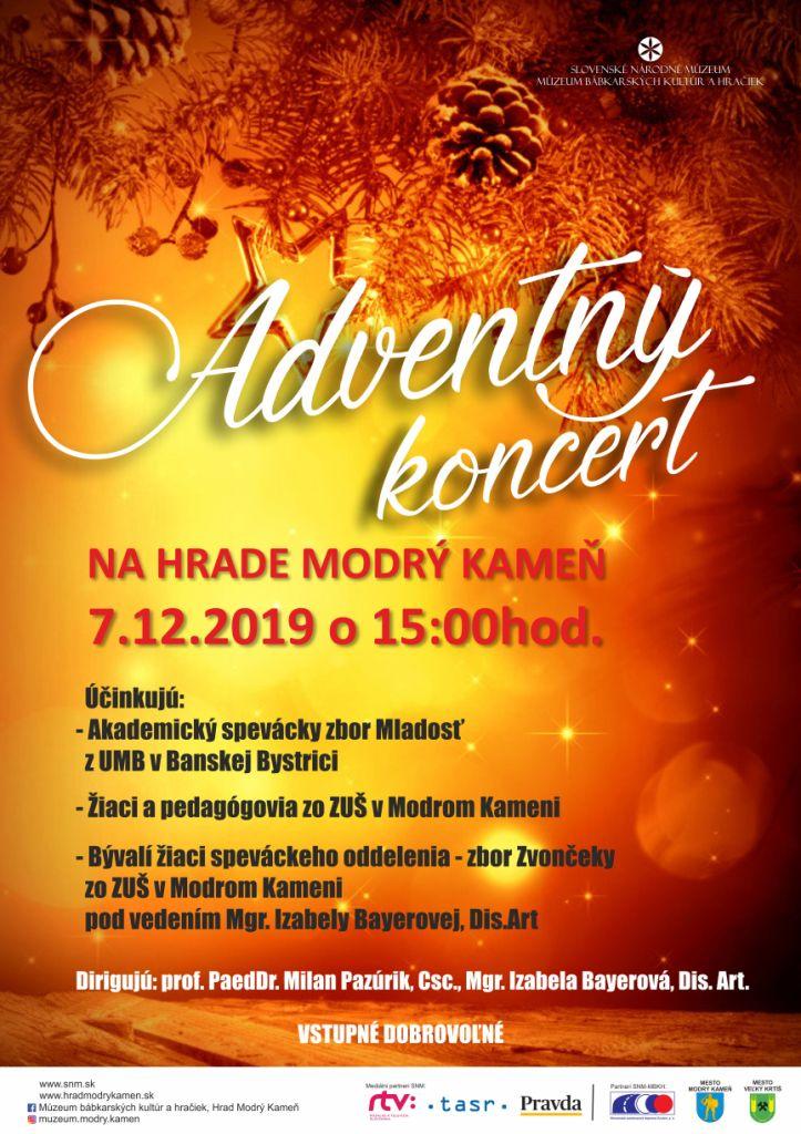 7.12. Adventný koncert na hrade