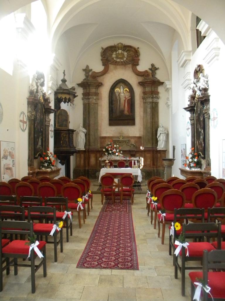 Slávnostná sv. omša na hrade